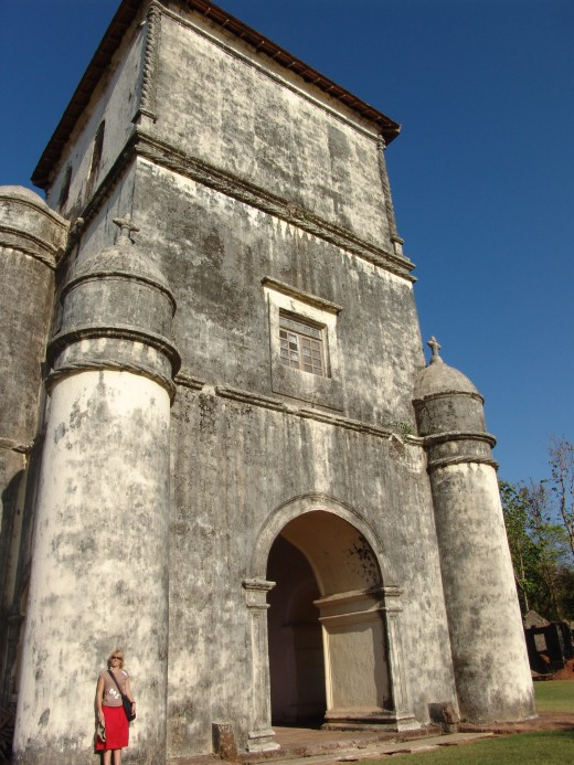 Rosario Church in Goa, India