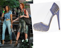 SJP in Brian Atwood Shoes