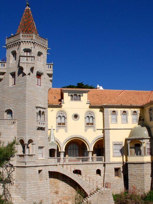 Library-Museum Condes de Castro Guimares in Cascais
