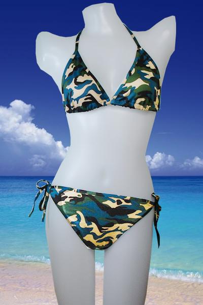Camouflage Swimwear