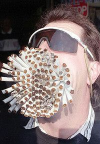 This established a record for smoking cigarettes.  Will smoking do good for him?