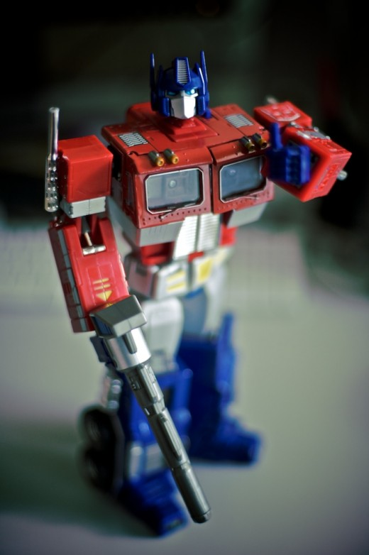 Takara's Masterpiece Optimus Prime. Source: Flickr, Steve Kay