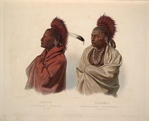 public domain--a Sauk and Fox indian