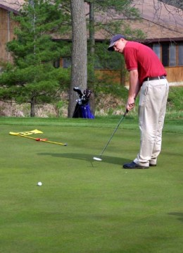 To putt is a valuable skill