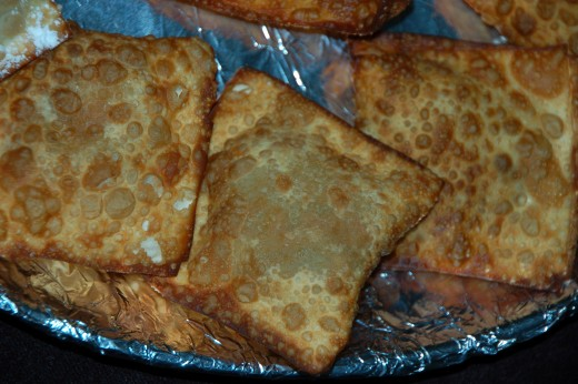 The meat Empanada is the Hispanic version of the egg roll & just as good!