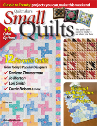 Quiltmaker Small Quilts magazine cover.