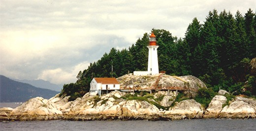 A pretty lighthouse