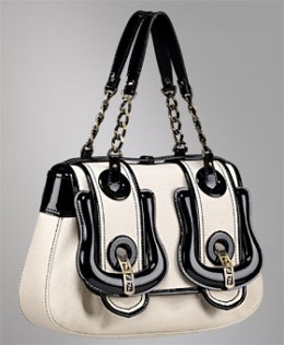 The Fendi B Bag has been described as Rock and Roll meets runway cool.
