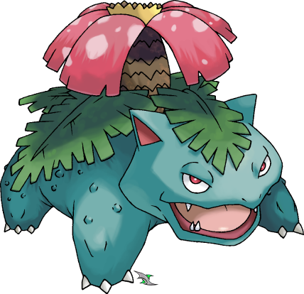 Venusaur is the evolution of Ivysaur and last eveolution of Bulbasaur.
