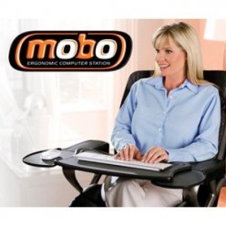5 Reasons to use an Ergonomic Chair Mounted Laptop and Keyboard Tray