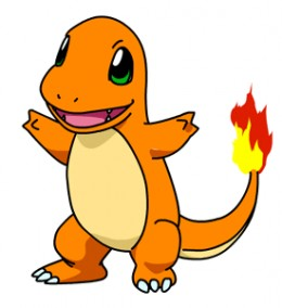 Charmander is one of the starter pokemon.