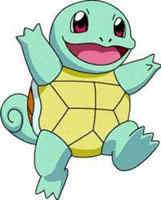Squirtle is a start water pokemon.