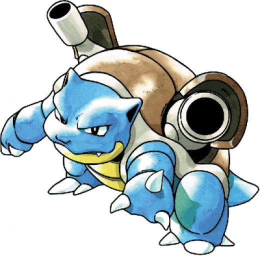 Blastoise is the last evolution of Squirtle.