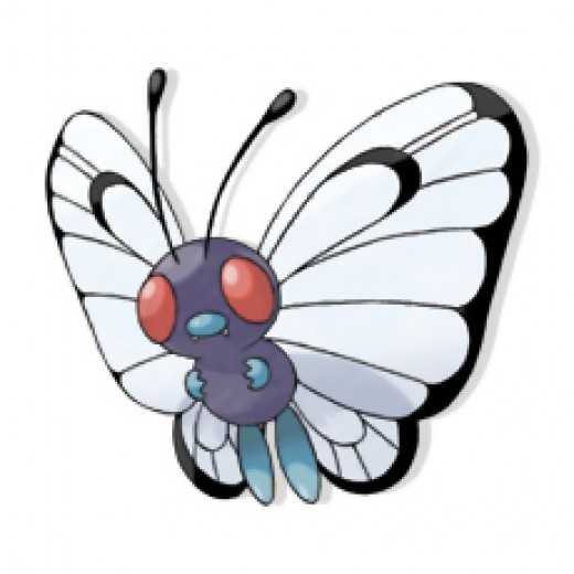 Butterfree is Caterpie final evolution.