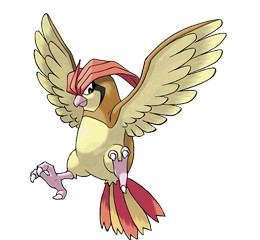 Pidgeotto is the evolved form of Pidgey.