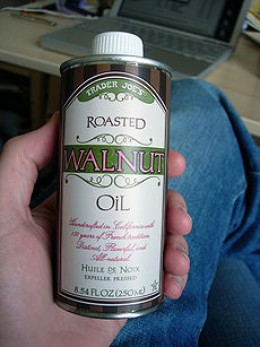Walnut oil substitute