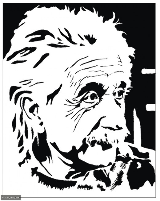 Albert Einstein was heavily influenced by Isaac Newton and had some understanding of philosophical ideas.