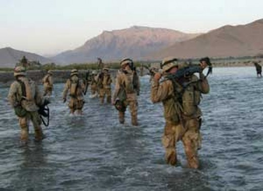 Marines of the 22 MEU Special Operations Capable in Afghanistan