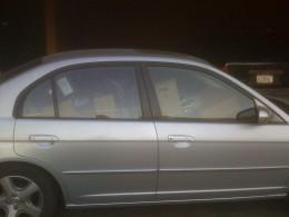Ross' car full of belongings