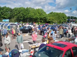 Turn your unwanted items into hard cash at a car boot sale