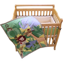Happy Tails portable crib set available at walmart.com. Photo credit: walmart.com