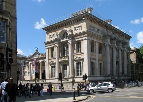 Facade of Ashmoleun Museum.Neo-classical design by Charles Cockerell.