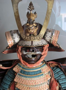 Samurai's dress. japanese section.
