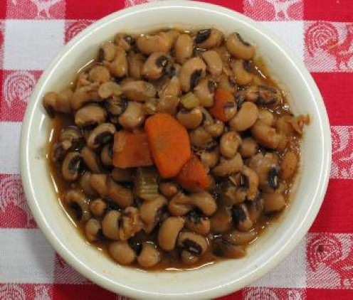 Let me introduce you to the real black-eyed peas!