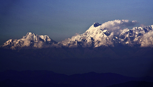 Himalayas - Origin of Basmati rice photo: sir_watkyn @flickr