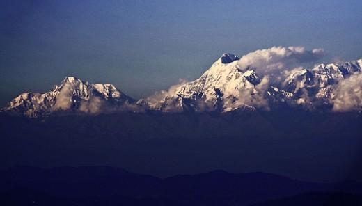 Himalayas - Origin of Basmati rice photo: sir_watkyn @flickr