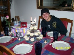My Son, Steven, on his 18 birthday