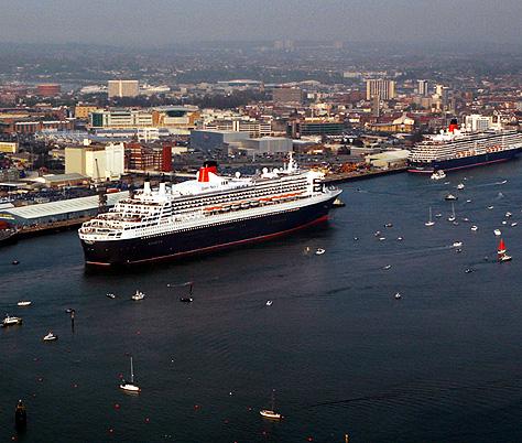 The Cruise Port of Southampton