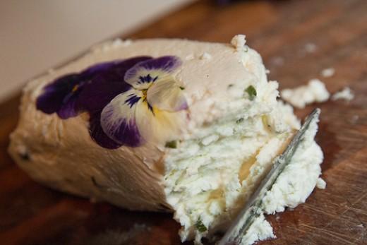 Goat milk cheese photo: stevendepelo @flickr