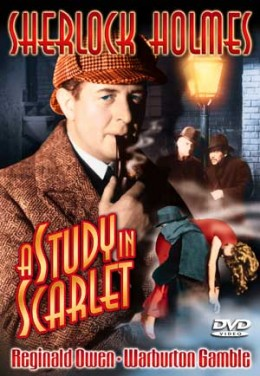 an analysis of the crime universe in sherlock holmes a study in scarlet by sir arthur conan doyle Chapter because this was sherlock holmes' first mystery sir arthur conan doyle described holmes as a analysis of a study in scarlet.