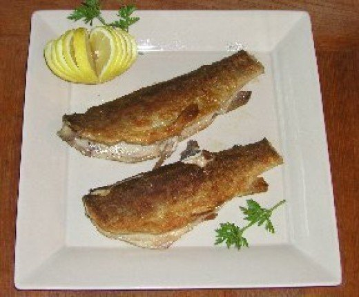 There is nothing like a fresh mountain trout deep fried. You can cook the trout whole or fillet your trout and cook the fillets.
