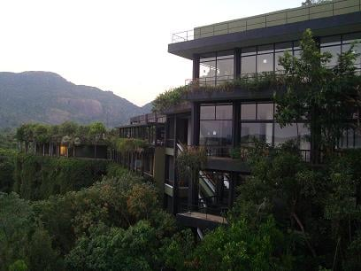 Lot of effort was made to preserve the nature and to make the hotel look like part of the nature