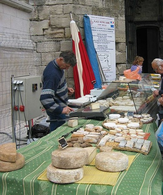 French cheesemonger