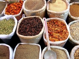 Spices by judepics on wikimedia commons