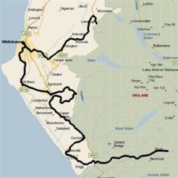 The route Bird took