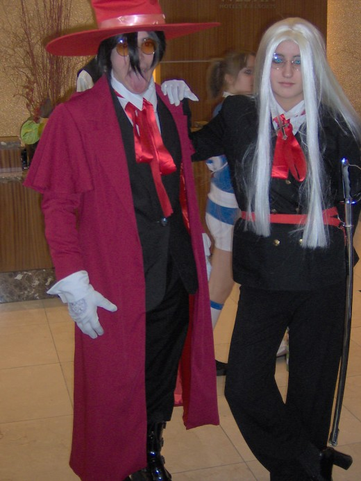 Hellsing : Alucard and Victoria