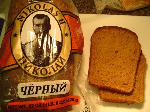 Nikolas (or Nickolas) II Bread is another black rye bread from David's Bread