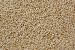 Sesame seeds in public domain