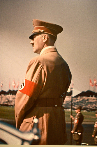 Hitler ponders the Scots threat (Tallapragada @ Flickr)