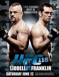 Fight Night At UFC 115 !