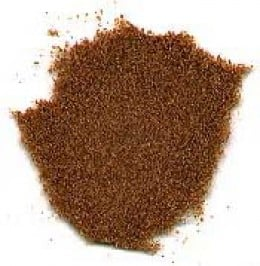Cumin in powder form