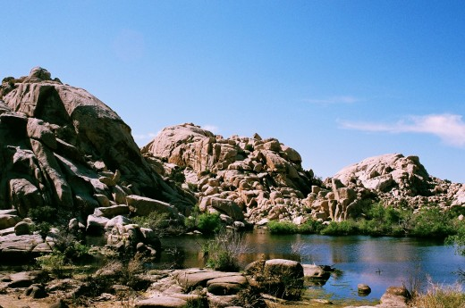 Barker dam in Joshua Tree National Park