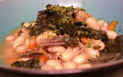 Kale and White Beans. Photo by MDJ Crumm, 2010.
