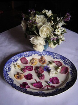 Sugared flowers