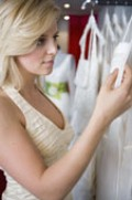 Sometimes, bridal shops are your best bet!
