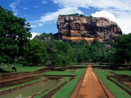 Sigiriya rock fortress , one of the most visited tourist places